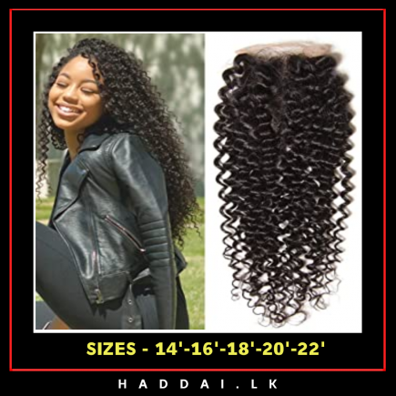 curly hair lace closure